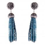 Ohrringe | Blau & Aqua