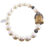 Armband Buddha Perle gold