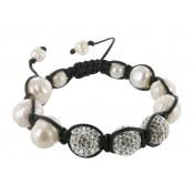 Armband Charity schwarz&weiß