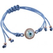 Armband Happy Eye blau