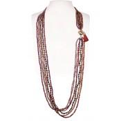 Halskette | Koralle & Terra