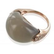 Ring | Taupe & Grau