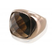 Ring | Mokka & Rauchquarz