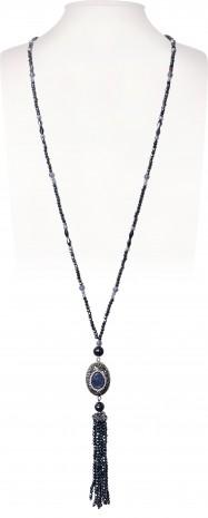 Halskette   Blau & Aqua