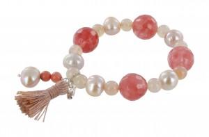 Armband | Rosé & Fuchsia