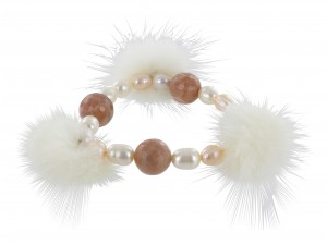 Armband | Cream & Perlmutt