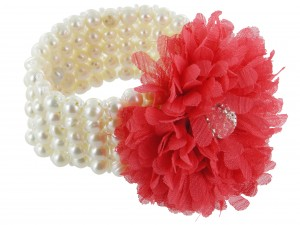 Armband | Rubinrot & Purpur