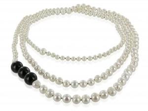 Halskette | Schwarz & Weiss