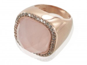 Ring   Cream & Perlmutt