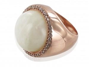Ring | Cream & Perlmutt