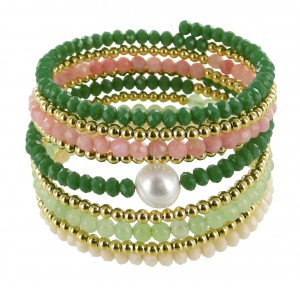Armband   Farbenprächtig