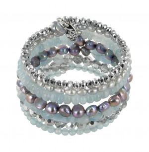 Armband | Blau & Aqua
