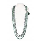 Halsketting | Groen & Turquoise