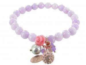 Armband | Lila & Lavendel