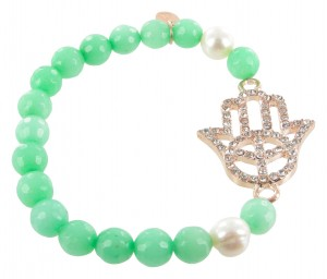 Armband | Groen & Turquoise
