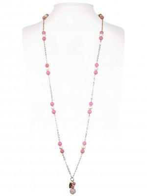 Halsketting | Rosé & Fuchsia