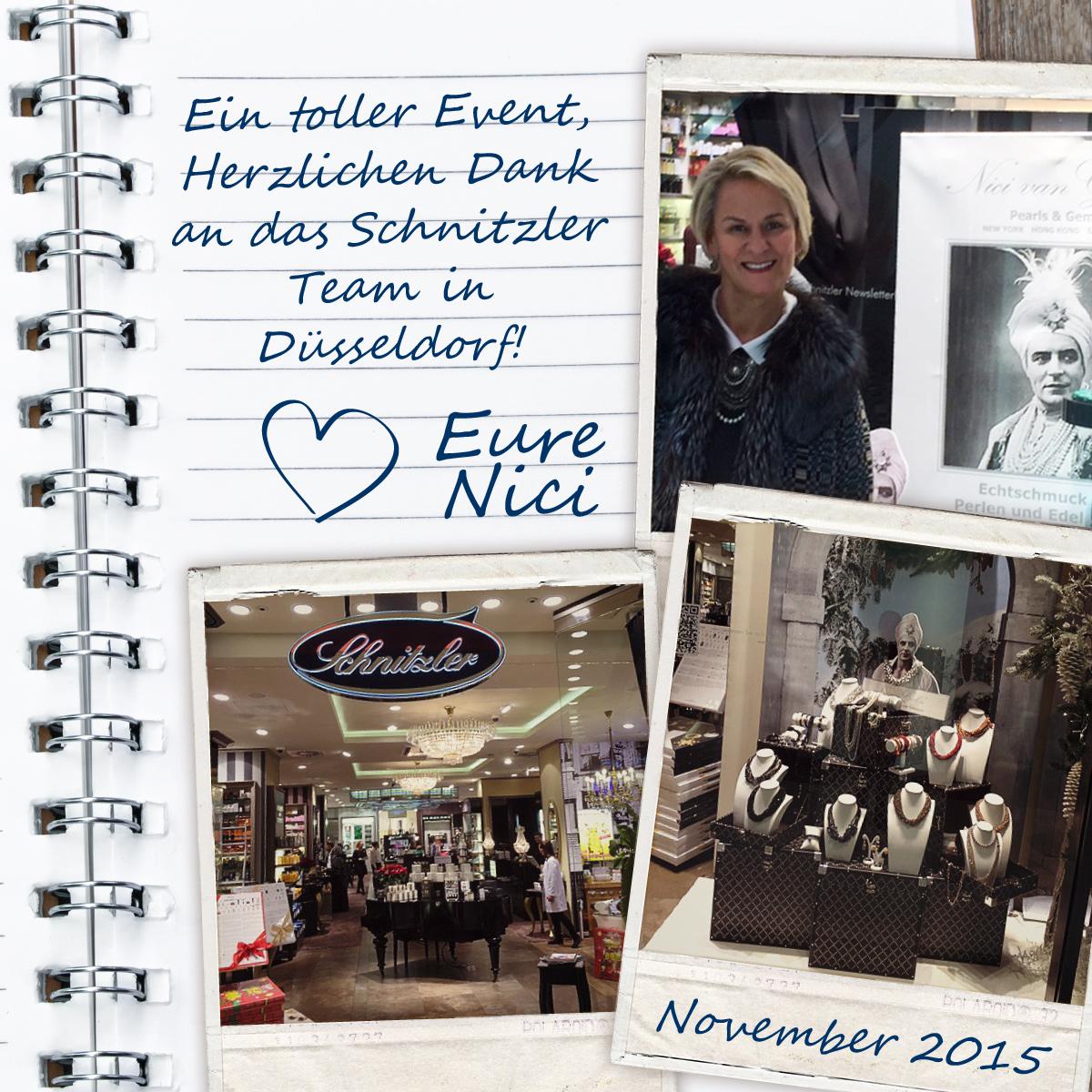 Ein toller Event, Herzlichen Dank an das Schnitzler Team in Düsseldorf!